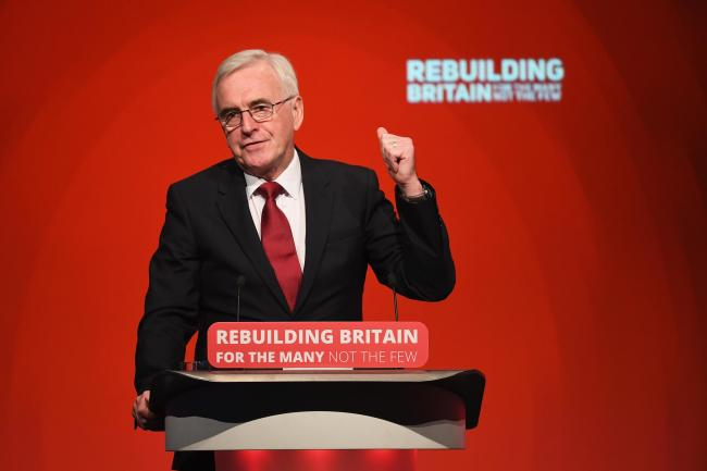 John McDonnell is to address Labour members in Glasgow, telling them the party's 'time is coming'