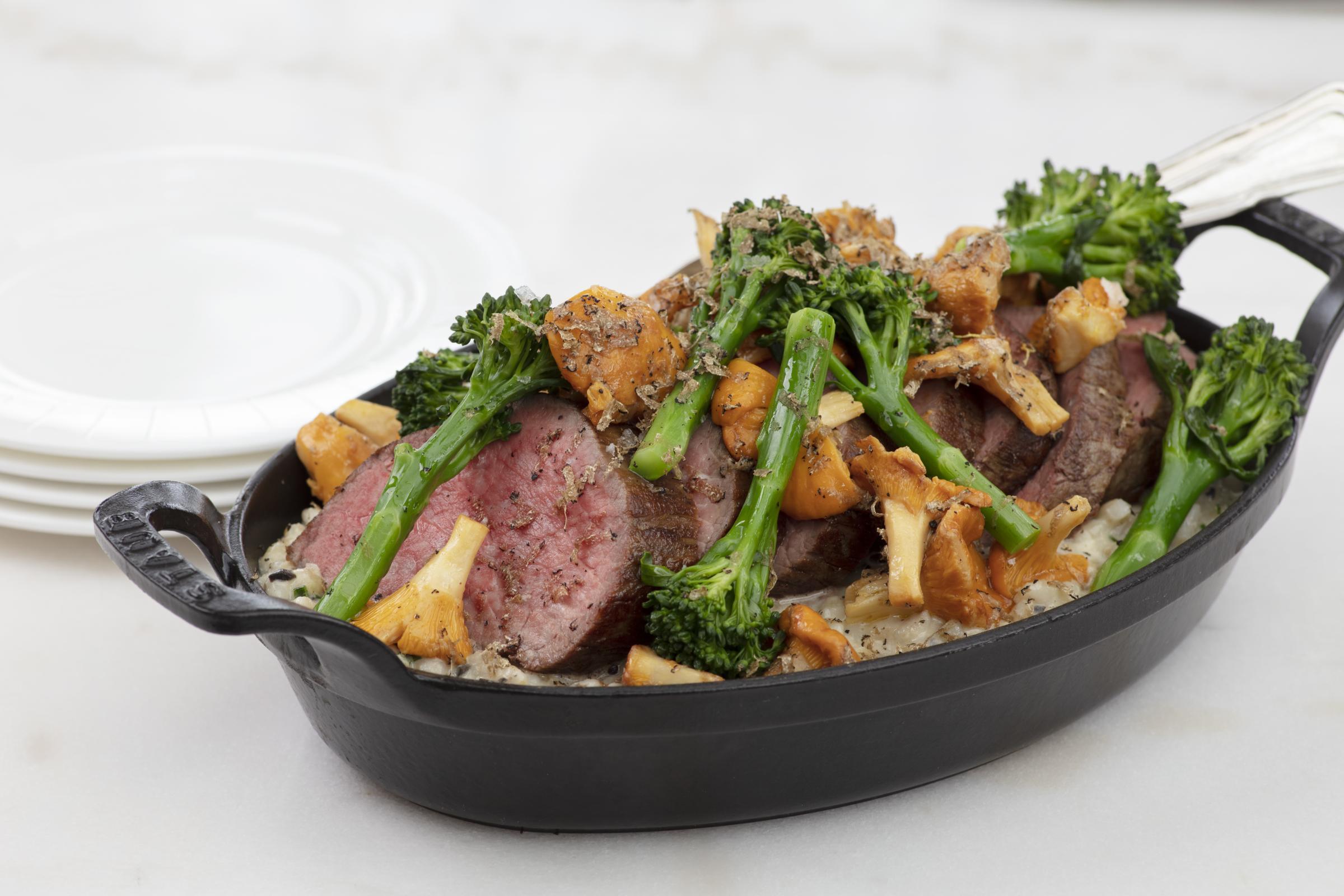 Recipe: Fillet of East Lothian beef by Simon Attridge, Executive Chef, Gleneagles