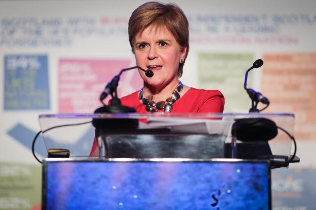 Nicola Sturgeon said the most important thing was preparing to give the people the choice of independence in a referendum