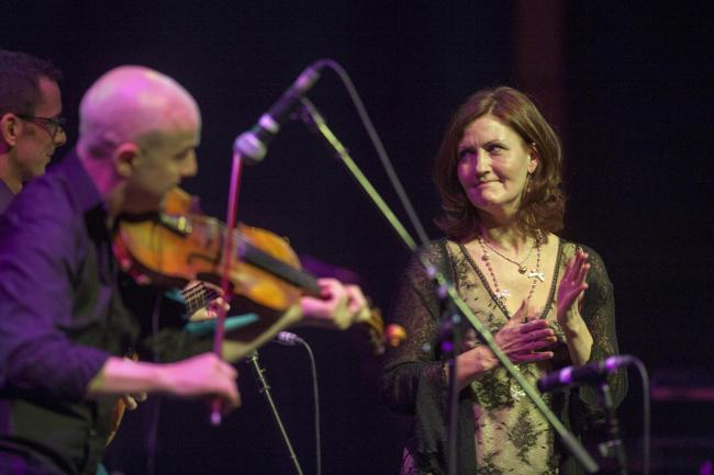 Capercaillie will perform along with Dougie MacLean and Kinnaris Quintet (both below)