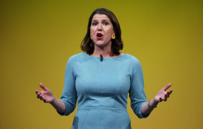 LibDem leader Jo Swinson claims the SNP have filled the heads of the Scottish electorate with anti-austerity nonsense