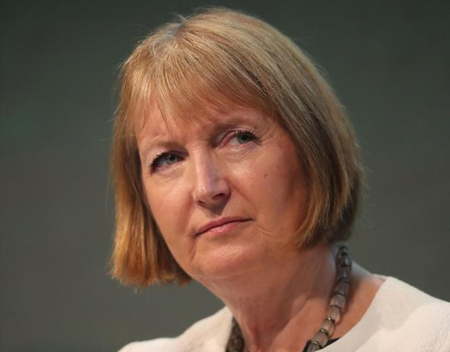 Harriet Harman said she will not back down