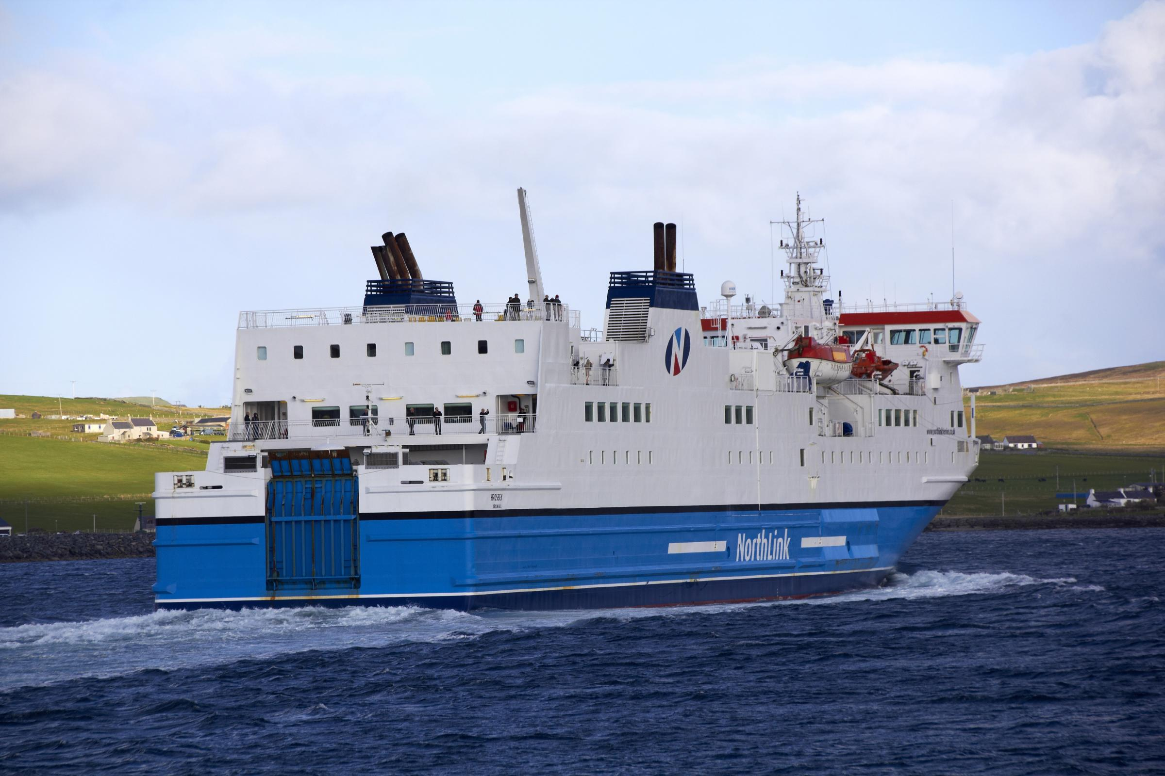 Serco to run ferries to Orkney and Shetland in £450m contract