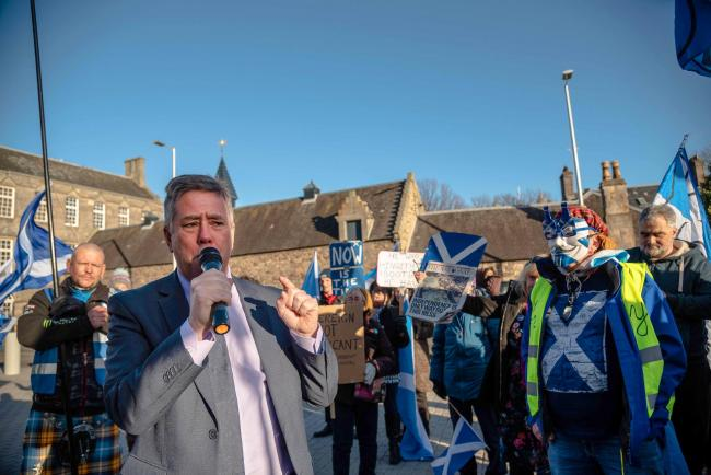 Depute Leader of the Scottish National Party and MSP for Clackmannanshire and Dunblane Keith Brown