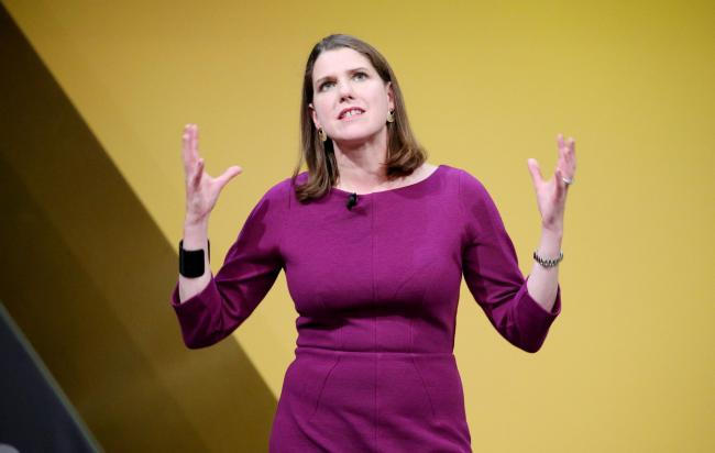 LibDem leader Jo Swinson compared English and Scottish nationalism in an exclusive interview