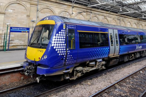 The National: ScotRail train stock