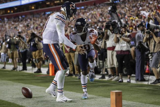 factory authentic b6cfa 55e1f Chicago Bears survive second half Washington Redskins ...