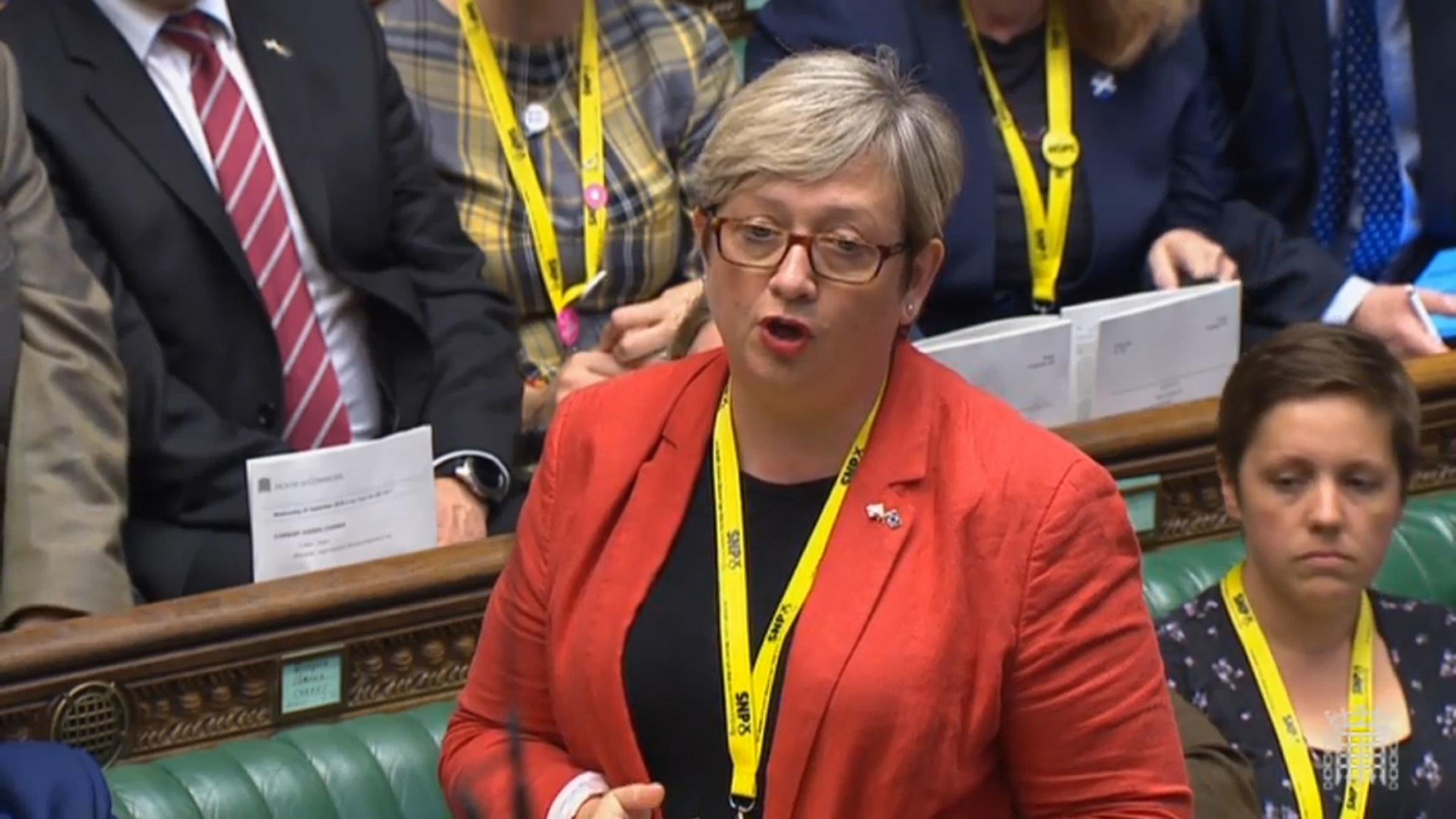 Joanna Cherry calls out BBC's Brian Taylor on indyref2 claim