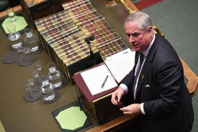 Attorney General Geoffrey Cox went on the attack in the Commons