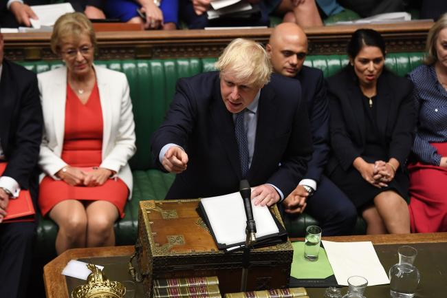 Prime Minister Boris Johnson was questioned by SNP MPs