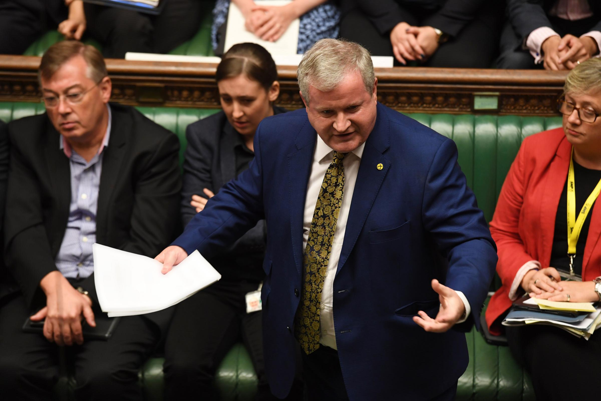 WATCH: Ian Blackford tears into Boris Johnson in ferocious speech
