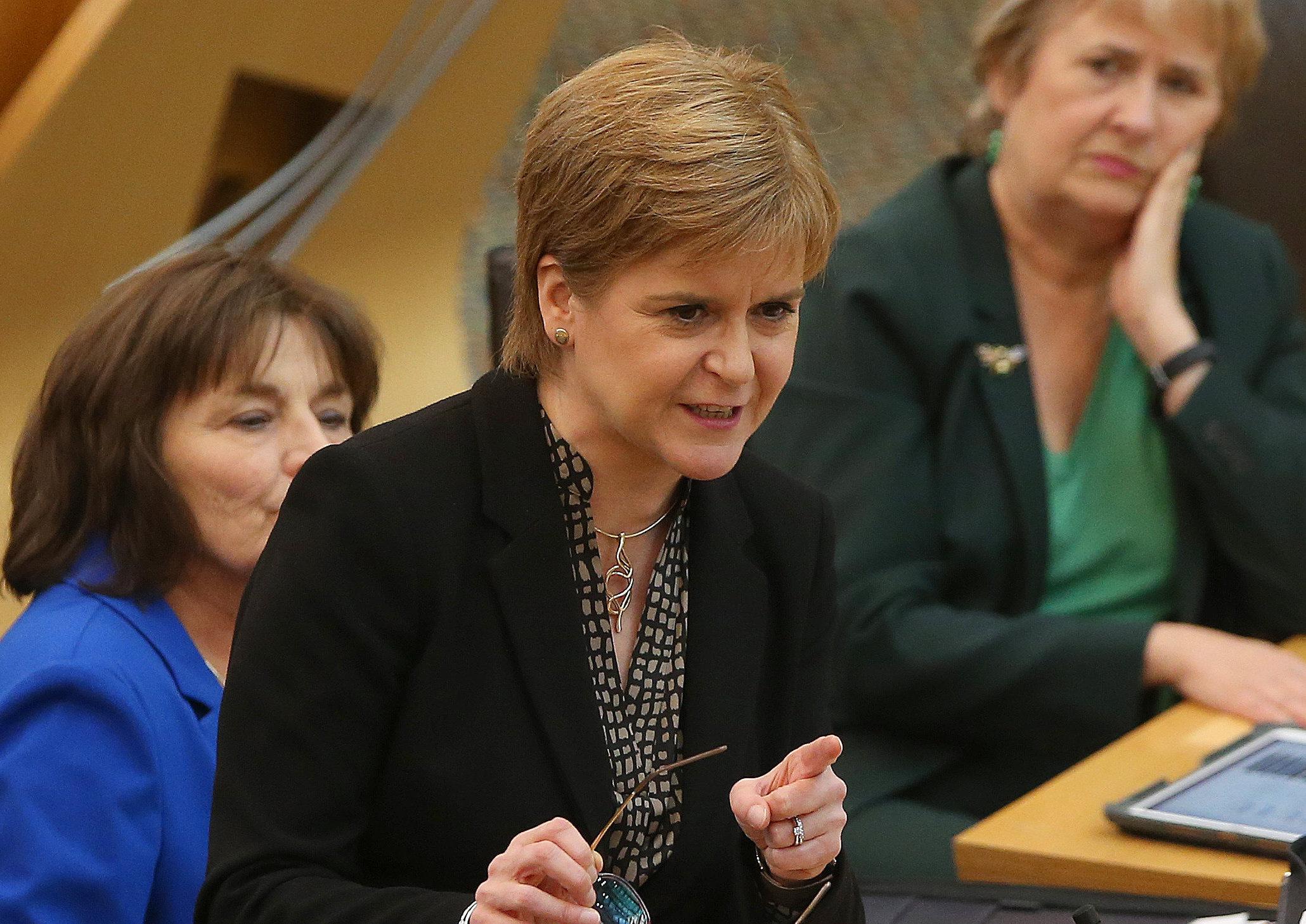Sturgeon raises fears over Unionists' bid to 'rig' indyref2 plans