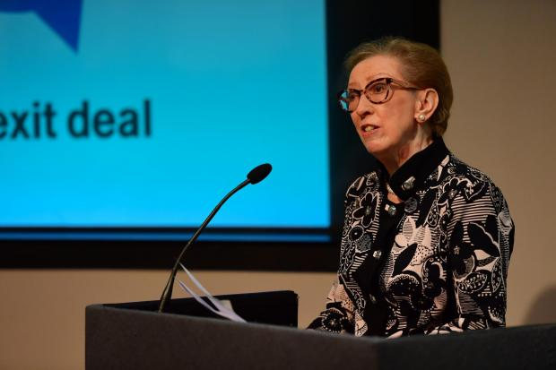 The National: Margaret Beckett could lead a government of national unity