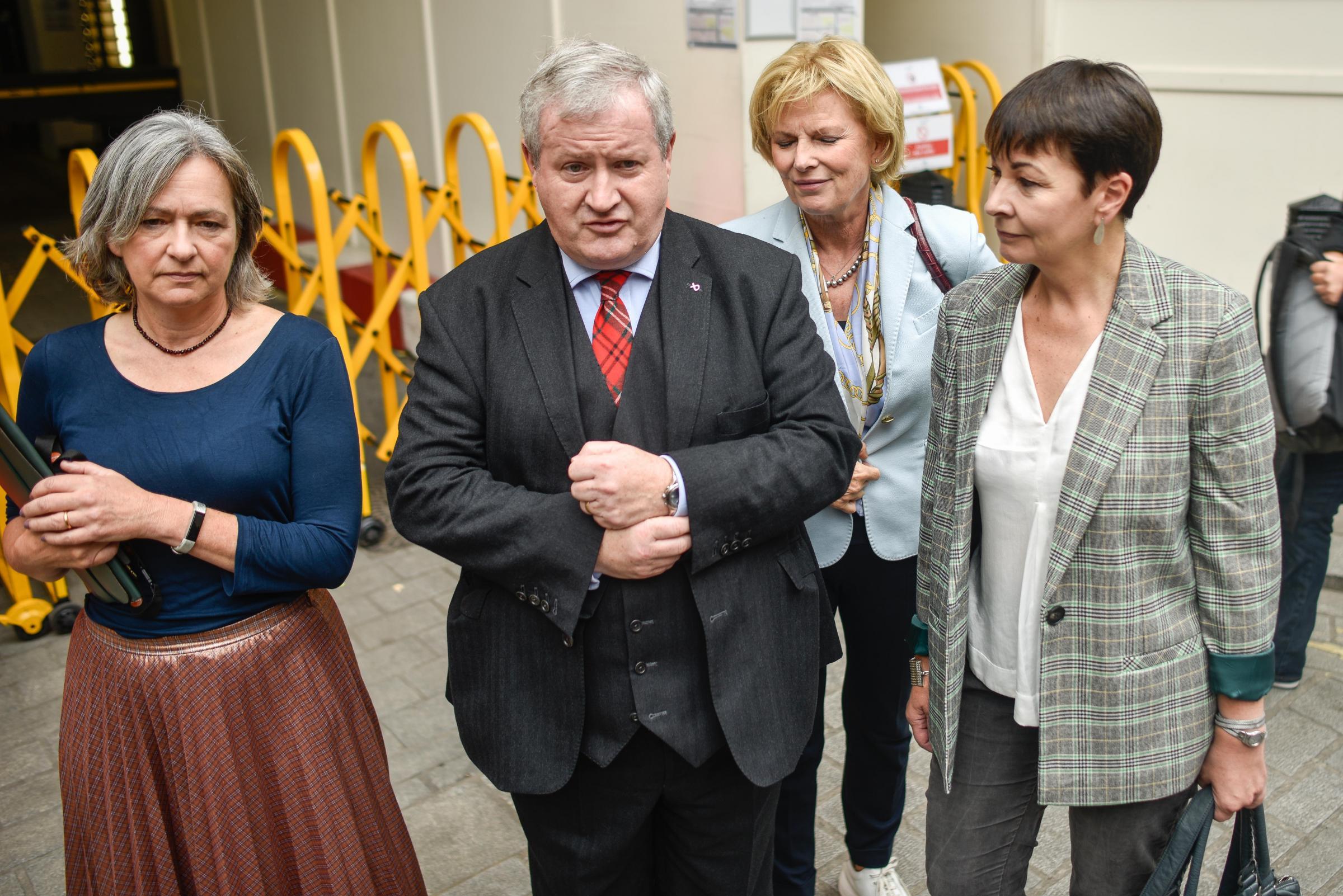 Ian Blackford: Opposition's 'responsibility' to oust Boris Johnson