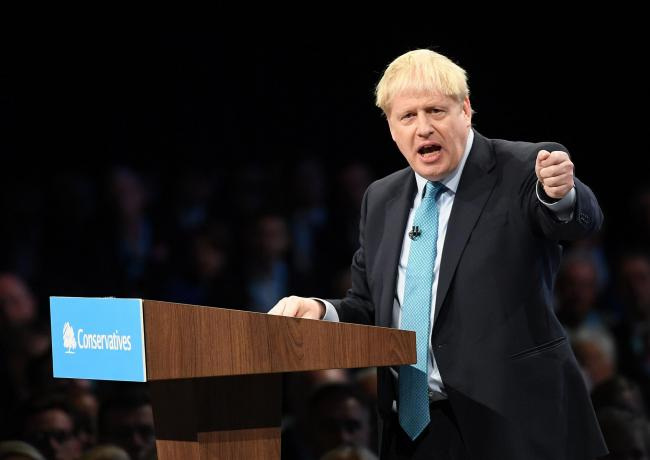 Boris Johnson again criticised the notion of a second independence referendum