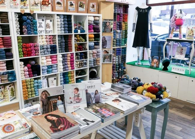 The Orry Mill yarn store in Eaglesham, Glasgow is listed as a contender for the UK's best small shop