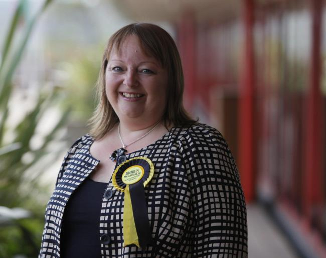 SNP candidate Anne McLaughlin has seen many former No voters cross the fence