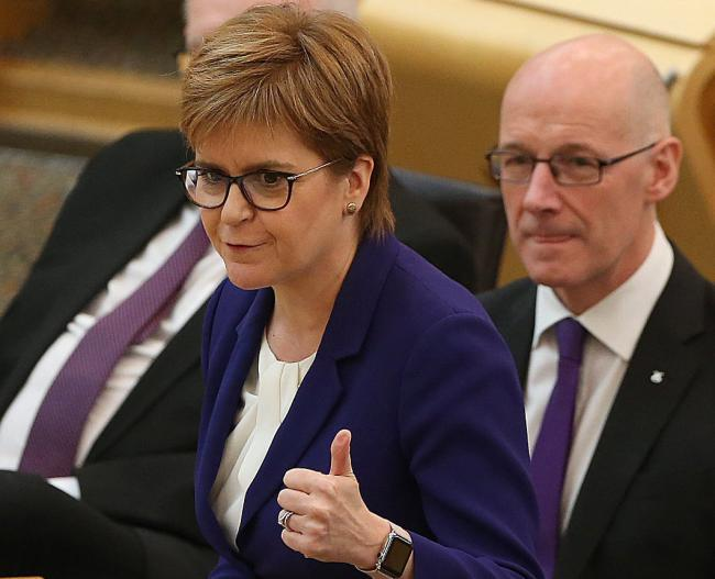 Nicola Sturgeon described the situation as worrying