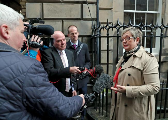 Joanna Cherry launched the action at the Court of Session