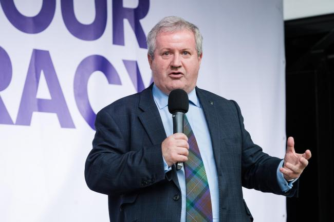 SNP MP Ian Blackford wants Scotland to determine its own future