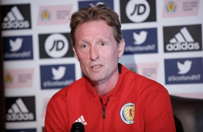 Scotland u21 manager Scot Gemmill is looking forward to facing Lithuania. Photo: SNS