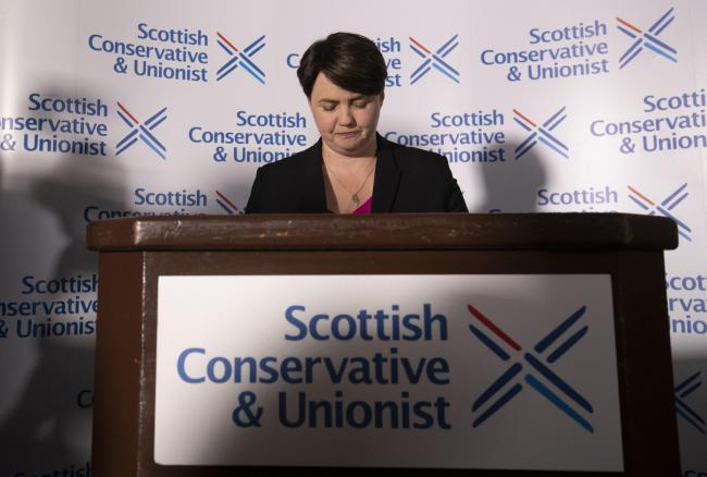 Ruth Davidson said she is to stand down as a Scottish Conservative MSP