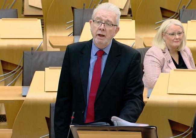 Michael Russell said the Scottish Government was learning of developments through media reports