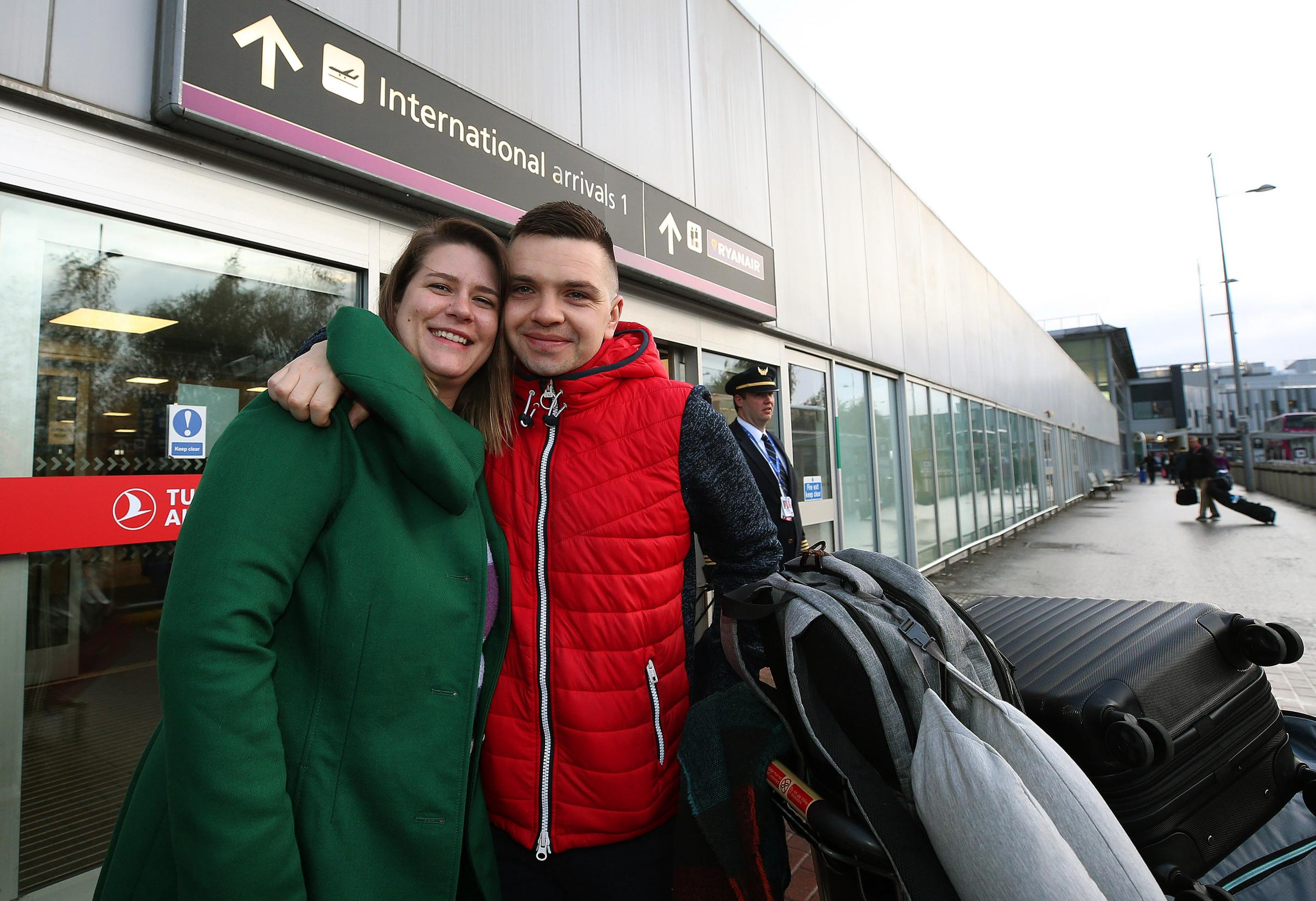 Couple finally reunited in Scotland after Home Office hell