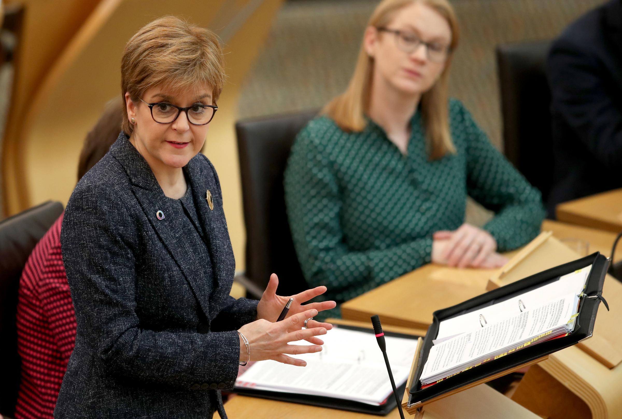 FMQs: Nicola Sturgeon has her say on Glasgow Lord Provost