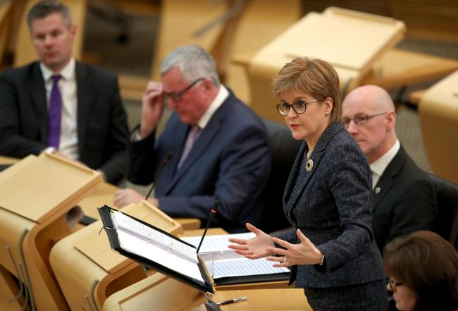 Nicola Sturgeon said the practice is 'certainly not moral'