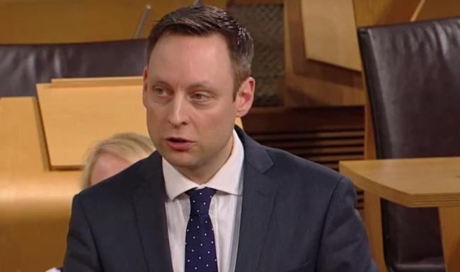 Scottish Conservative MSP at First Minister's questions