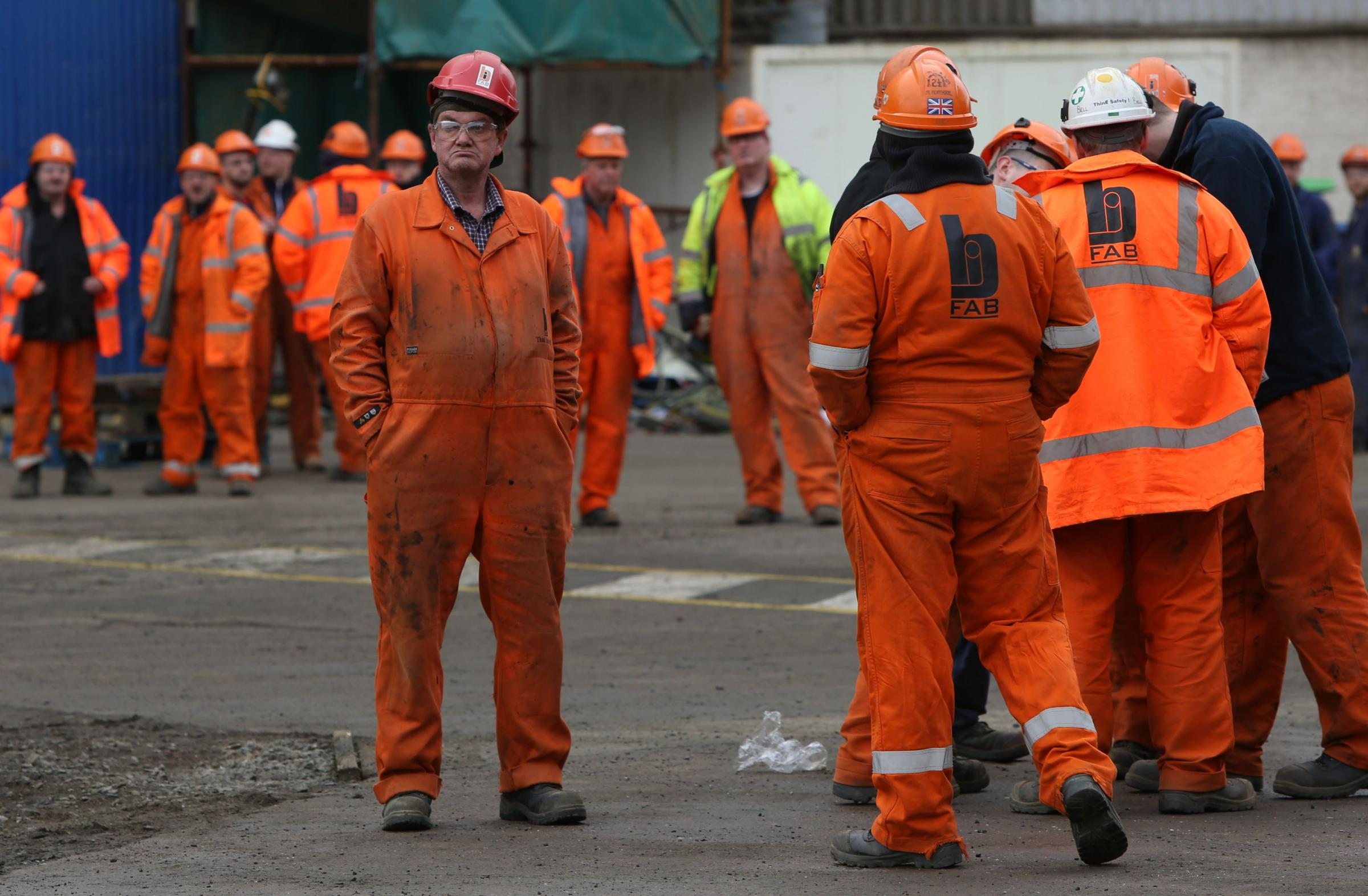 BiFab workers at newly reopened site face job cuts