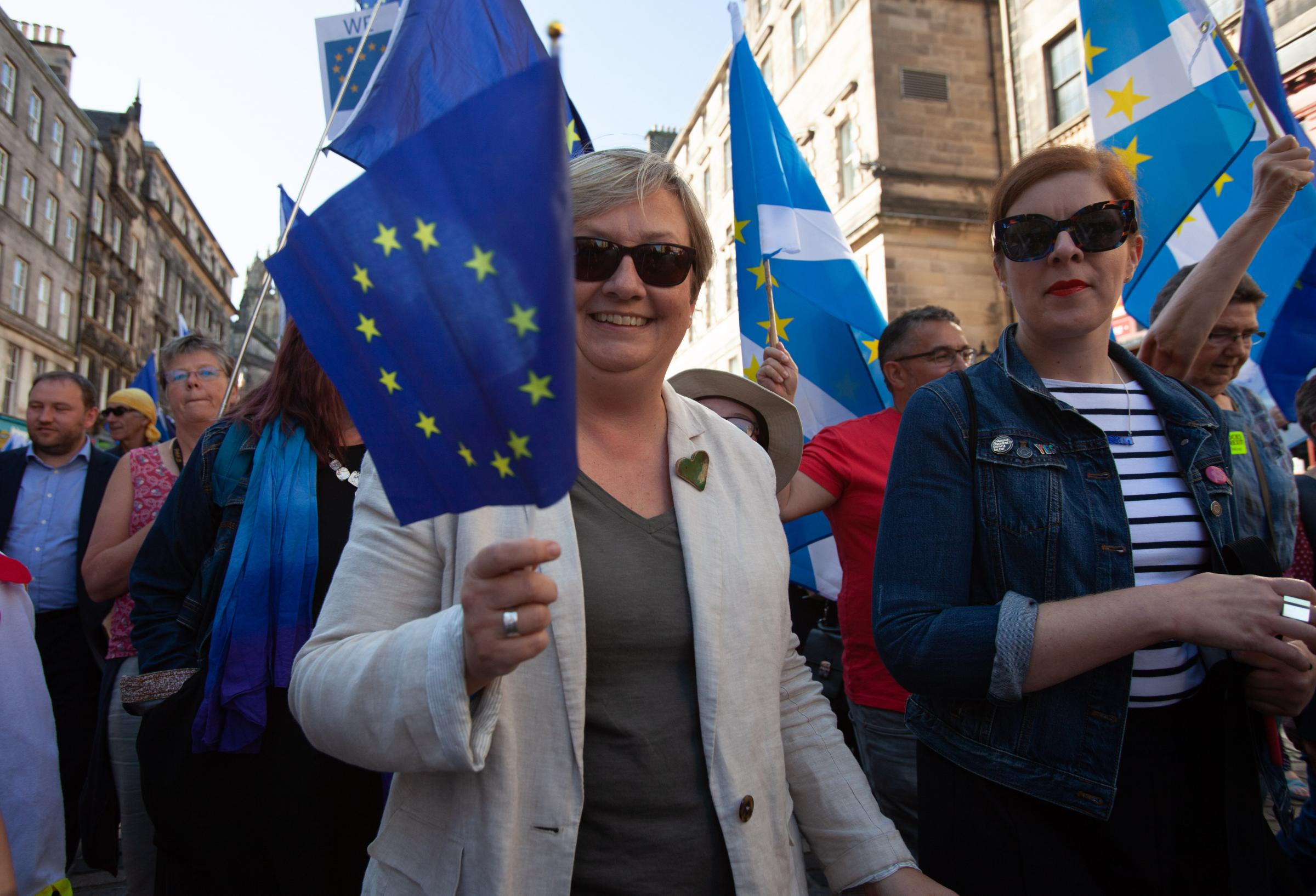 I'm stressed by Brexit, but I'm glad I get to see it from Scotland
