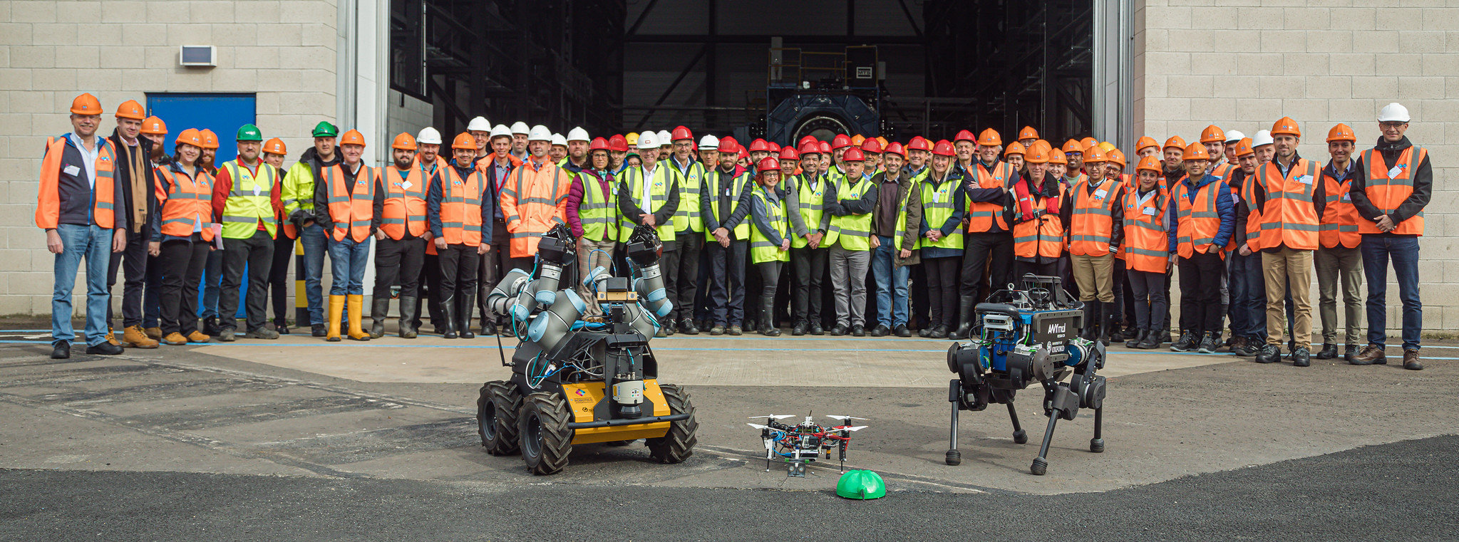 Orca hub showcases offshore robotics technology in world first