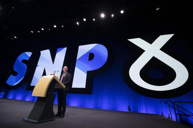 The National: The SNP conference, October 2019