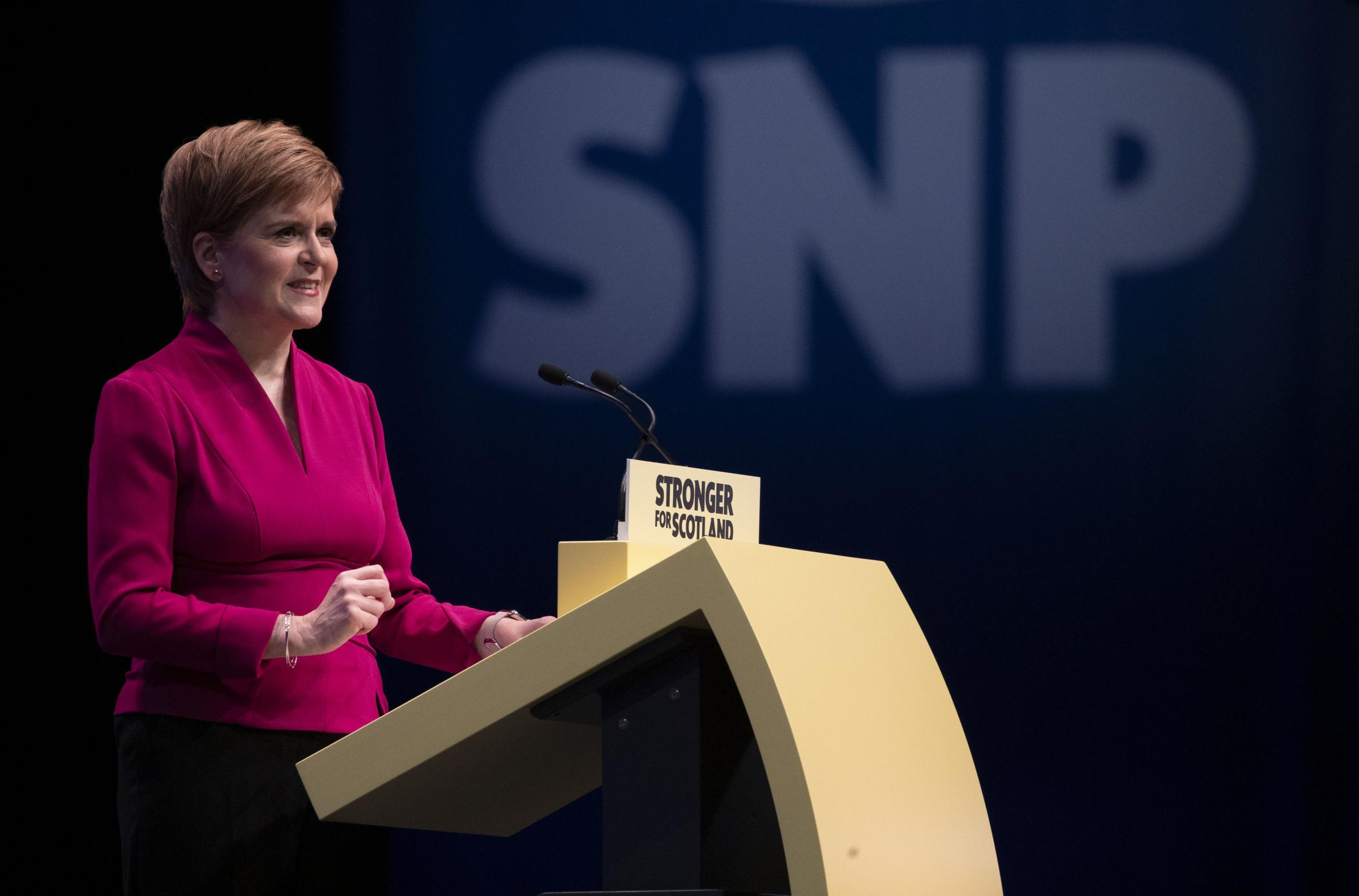 Nicola Sturgeon tops Scottish survey on UK political leaders