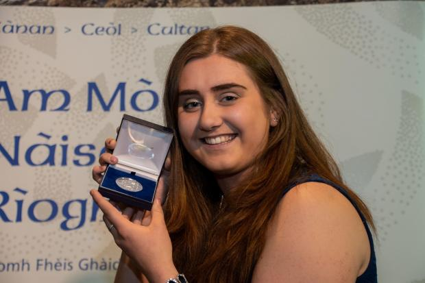 Jenny Black from Brechin won the award and wants to go on to teach young children