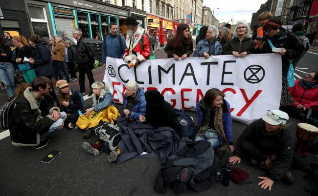 Extinction Rebellion his a clear vísion – they want tae mobilise 3.5% o the population