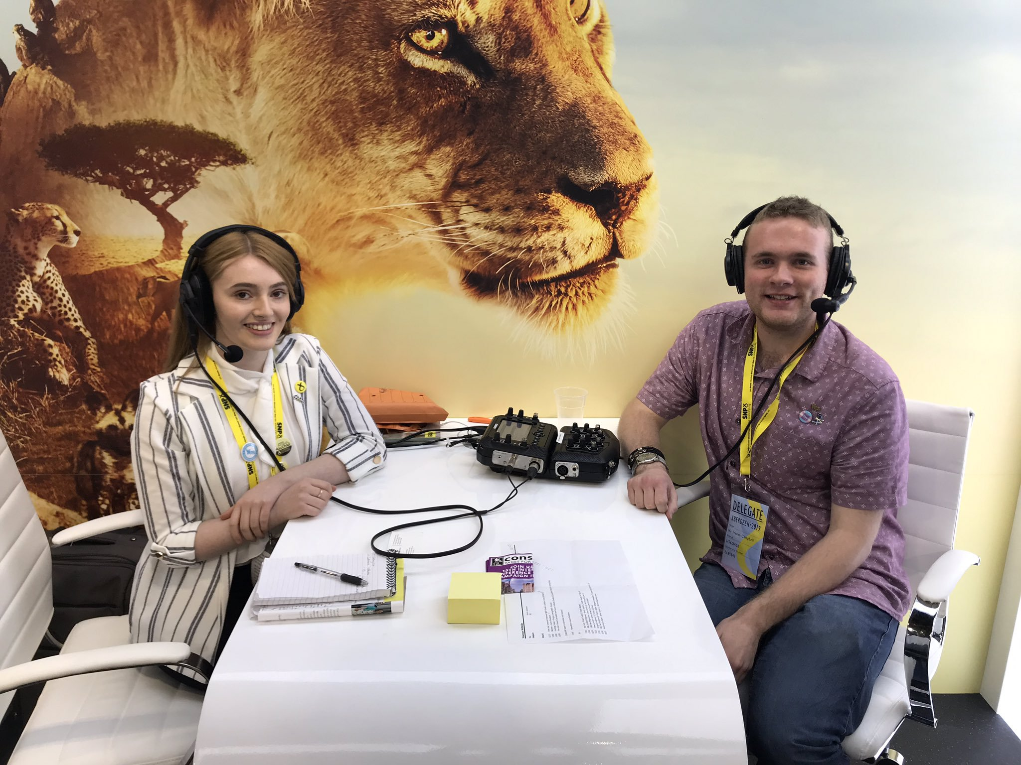 Young SNP duo: 'Liars at BBC ambushed us on live radio'