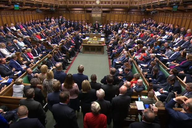 The National: MPs in the House of Commons
