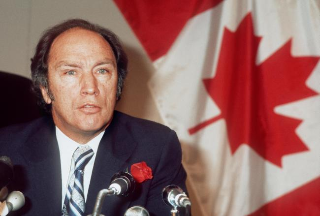 Canadian prime minister and playboy Pierre Elliott Trudeau knew Canada had to change after the independence vote for Quebec