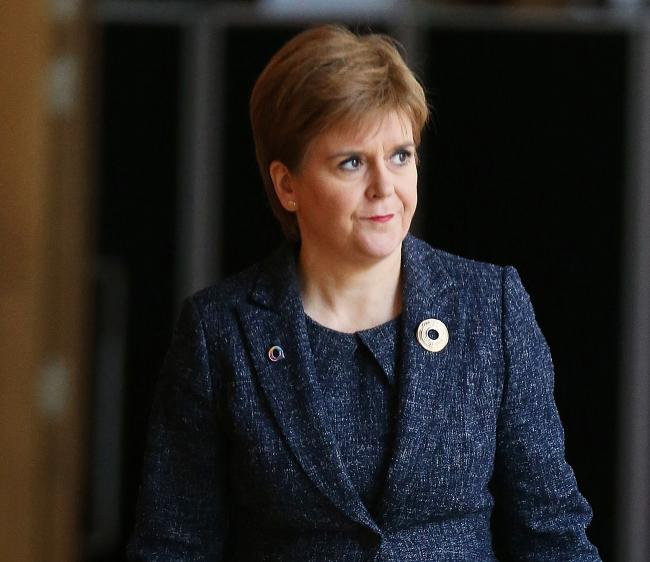 Nicola Sturgeon said neither Labour or the Tories would win an overall majority