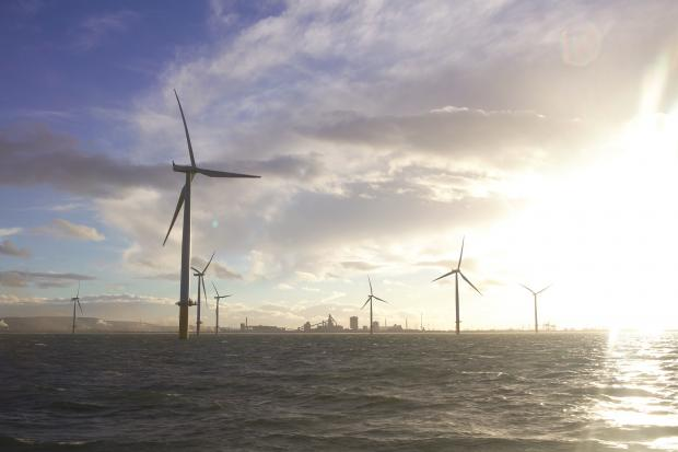 The National: Dogger Bank will be the world's largest wind farm, able to generate 5% of the UK's electricity needs