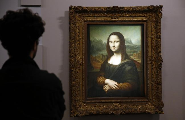 Leonardo da Vinci's Mona Lisa – one of his most famous works – will both be on display