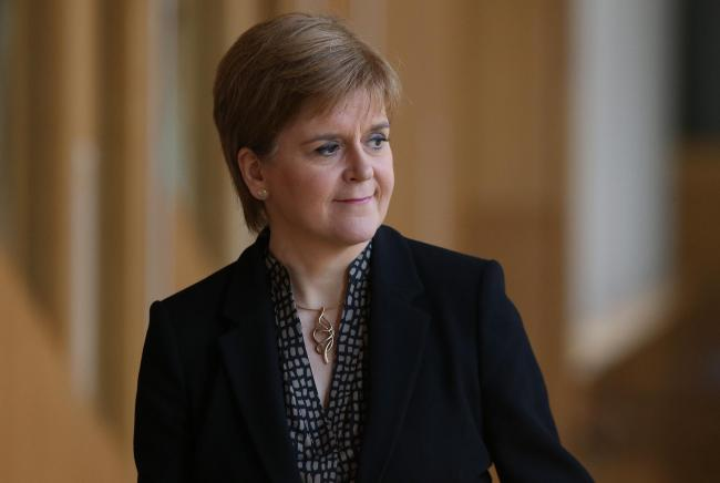 Nicola Sturgeon explained the notes are typed up into emails