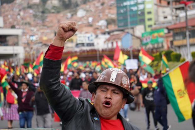 The National: Bolivia has also seen massive demonstrations