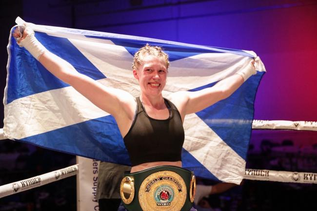 Hannah Rankin held the IBO female super-welterweight title for part of last year