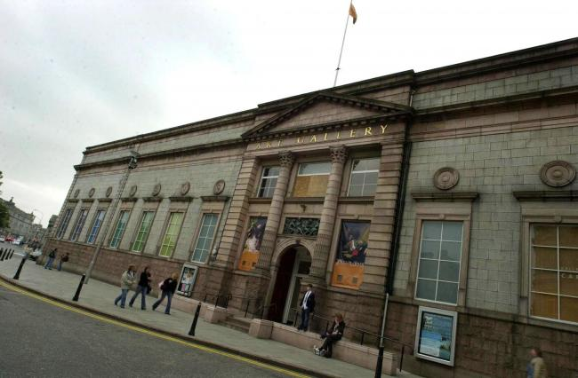 The MSP claimed the Scottish Government refused a funding application from Aberdeen Art Gallery