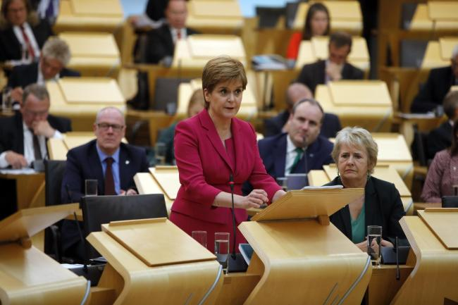 Nicola Sturgeon was asked about issues including closed hospital wards and funding for health boards