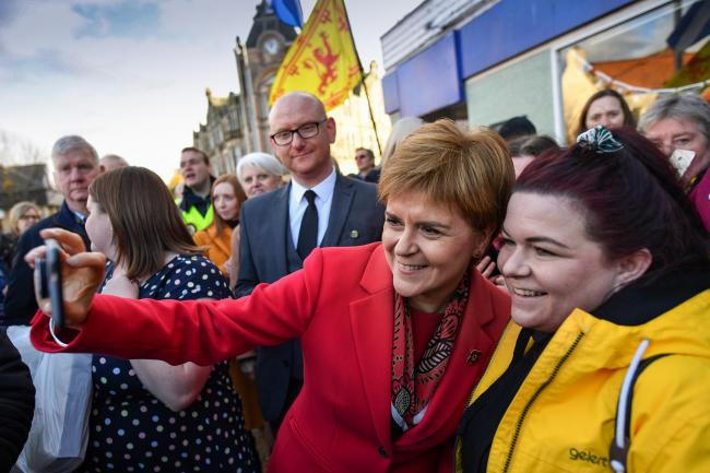 Nicola Sturgeon's party is likely to hold the balance of power in a hung parliament